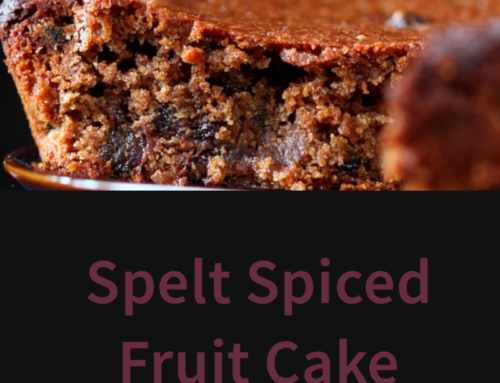 Spelt Spiced Fruit Cake